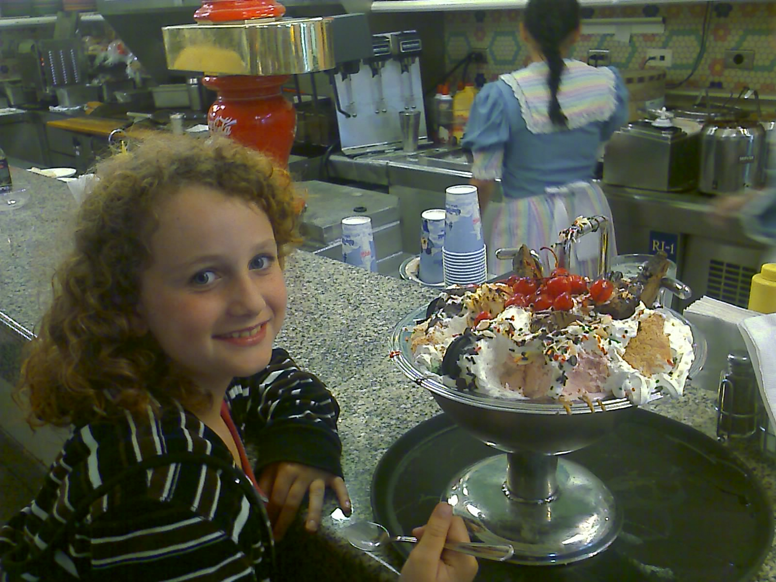 The Kitchen Sink at Beaches and Cream in the Disney Beach Club