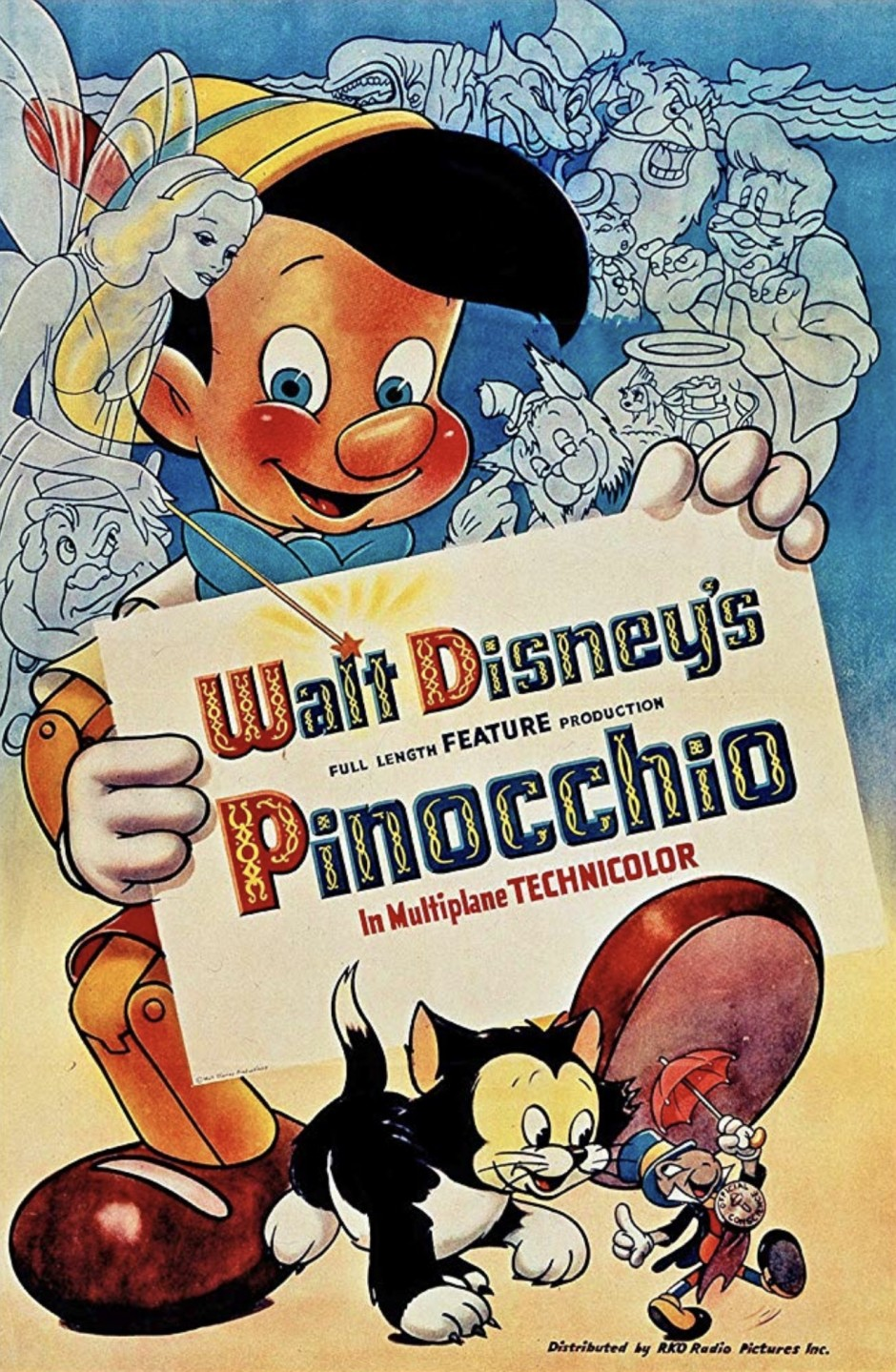 Disney's Pinocchio Movie Poster