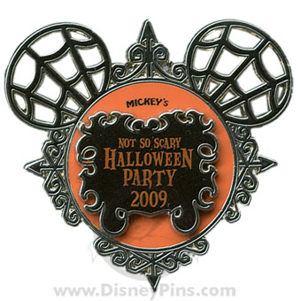 Win a 2009 Mickey's Not So Scary Halloween Party Pin!