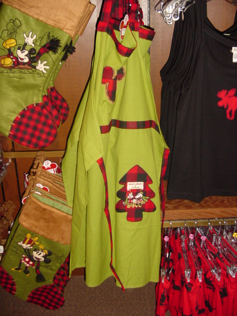Disney Christmas Apron