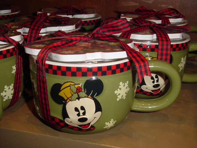 Disney Christmas Coffee Mug