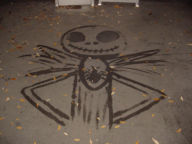 Jack Skellington Water Art