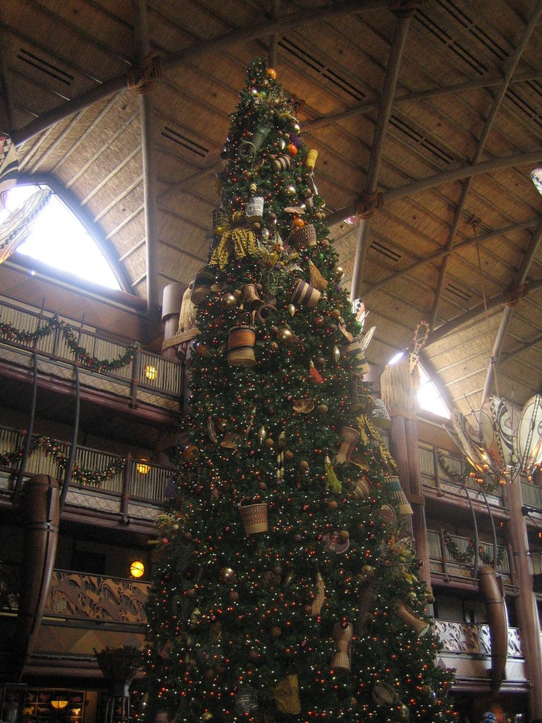 Photo Tour of the Christmas Decorations at Disney's Animal Kingdom Lodge