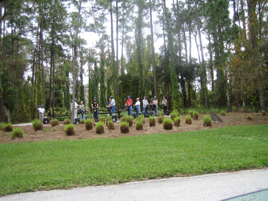 Walt Disney World Segway Wilderness Back Trail Adventure Tour