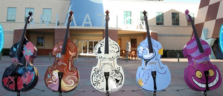 Disney and String Lovers Rejoice for One of a Kind Instruments
