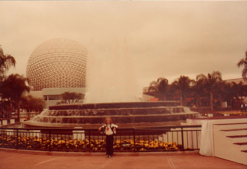 Dancing_Fountain Amanda Tinney Epcot Center 80s