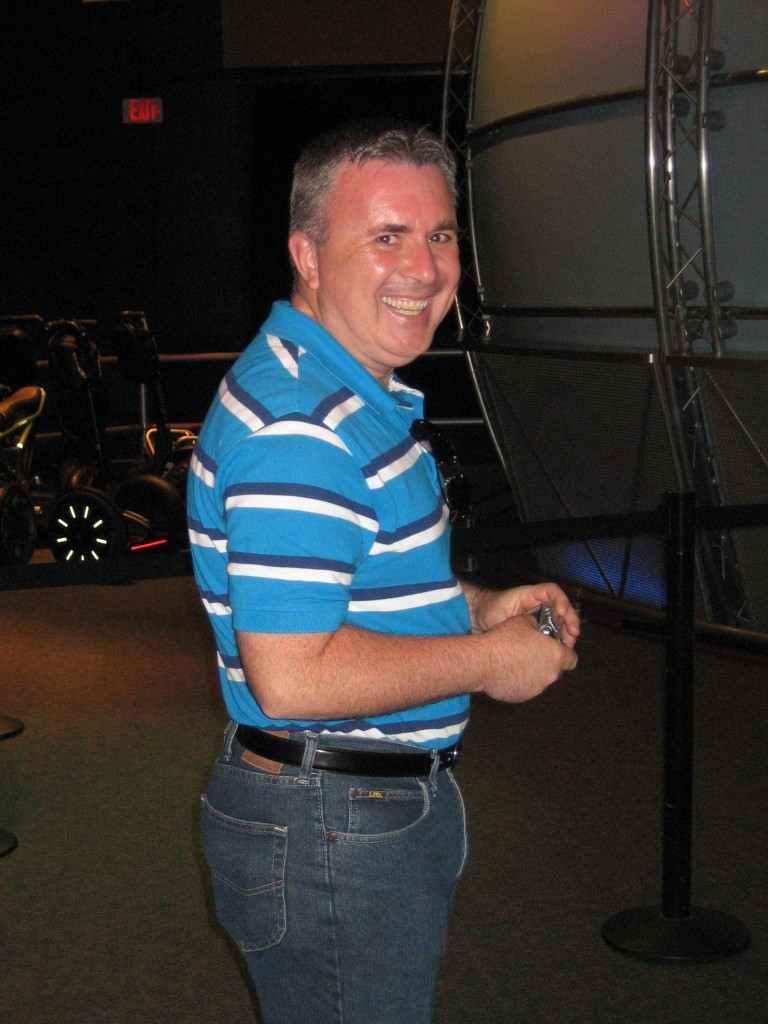 Don had a great time on the Segway Mini Tour