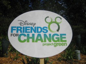 Disney Channel Stars Promote Disney Friends For Change Project Green