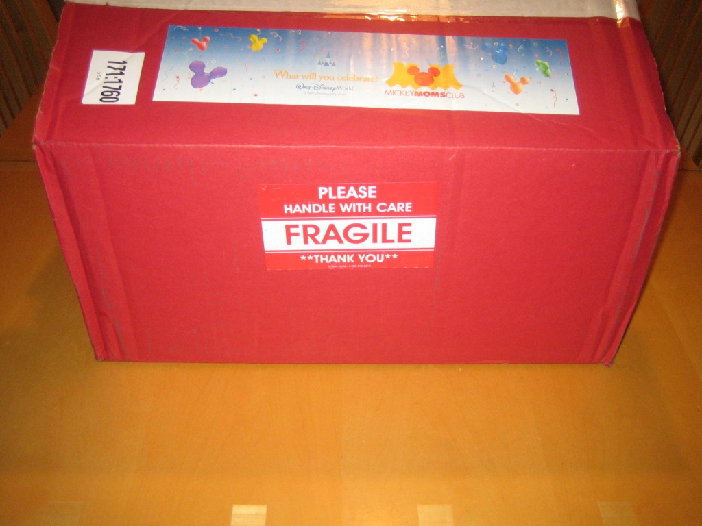 Big Red Disney Box