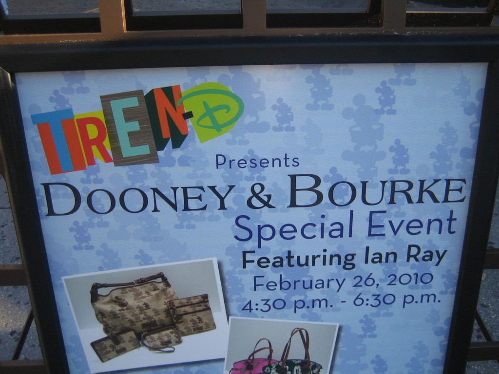 Dooney and Bourke Event at Disney TREN-D With Ian Ray