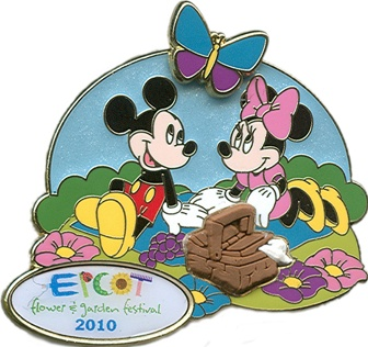 Mickey Picnic Pin