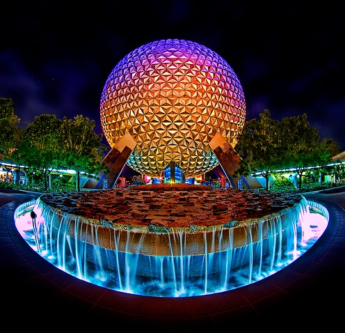 Wordless Wednesday – Spaceship Earth Never Looked So Good