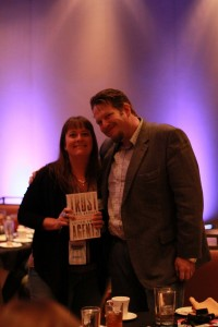Chris Brogan and Amanda Tinney