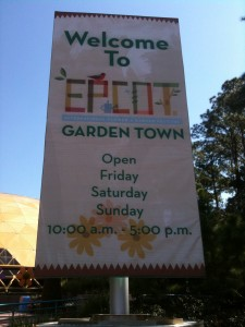 2010 Epcot International Flower and Garden Festival Merchandise Photos