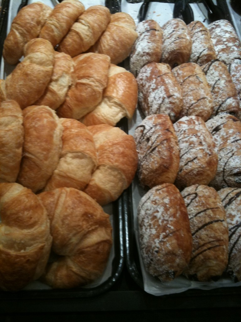 Chocolate and Plain Croissants