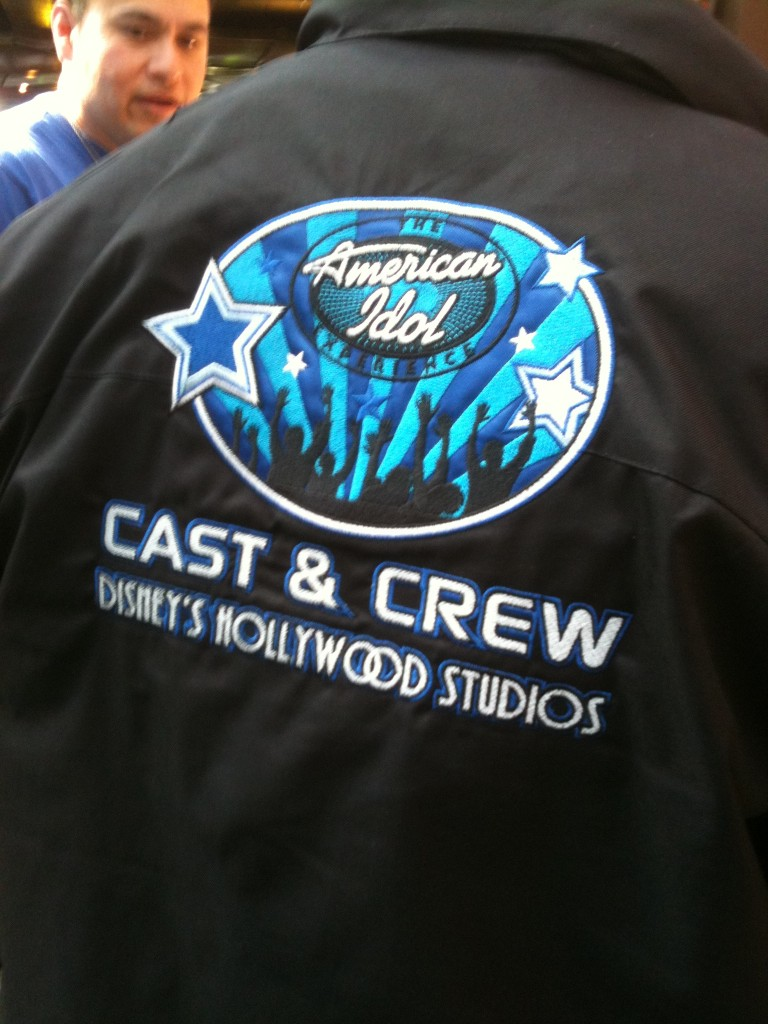 American Idol Cast Crew Jacket
