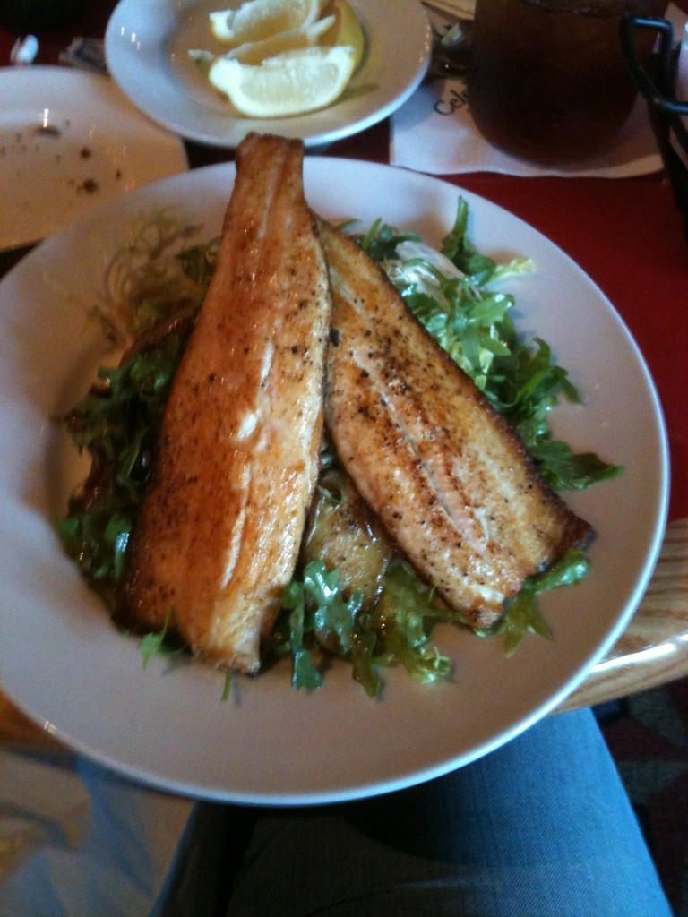 Whispering Canyon Cafe Whiskey Trout