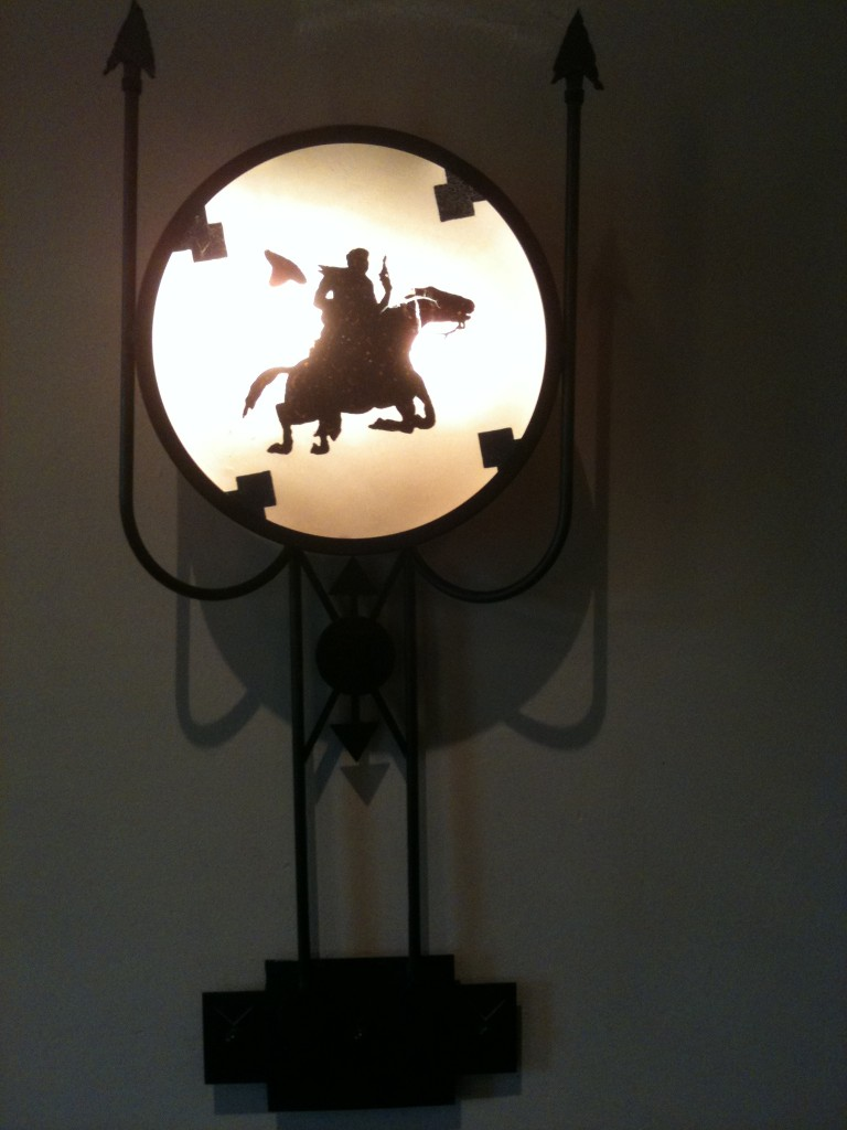 Whispering Canyon Cafe Sconce