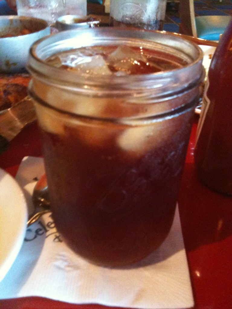 Whispering Canyon Cafe Mason Jars