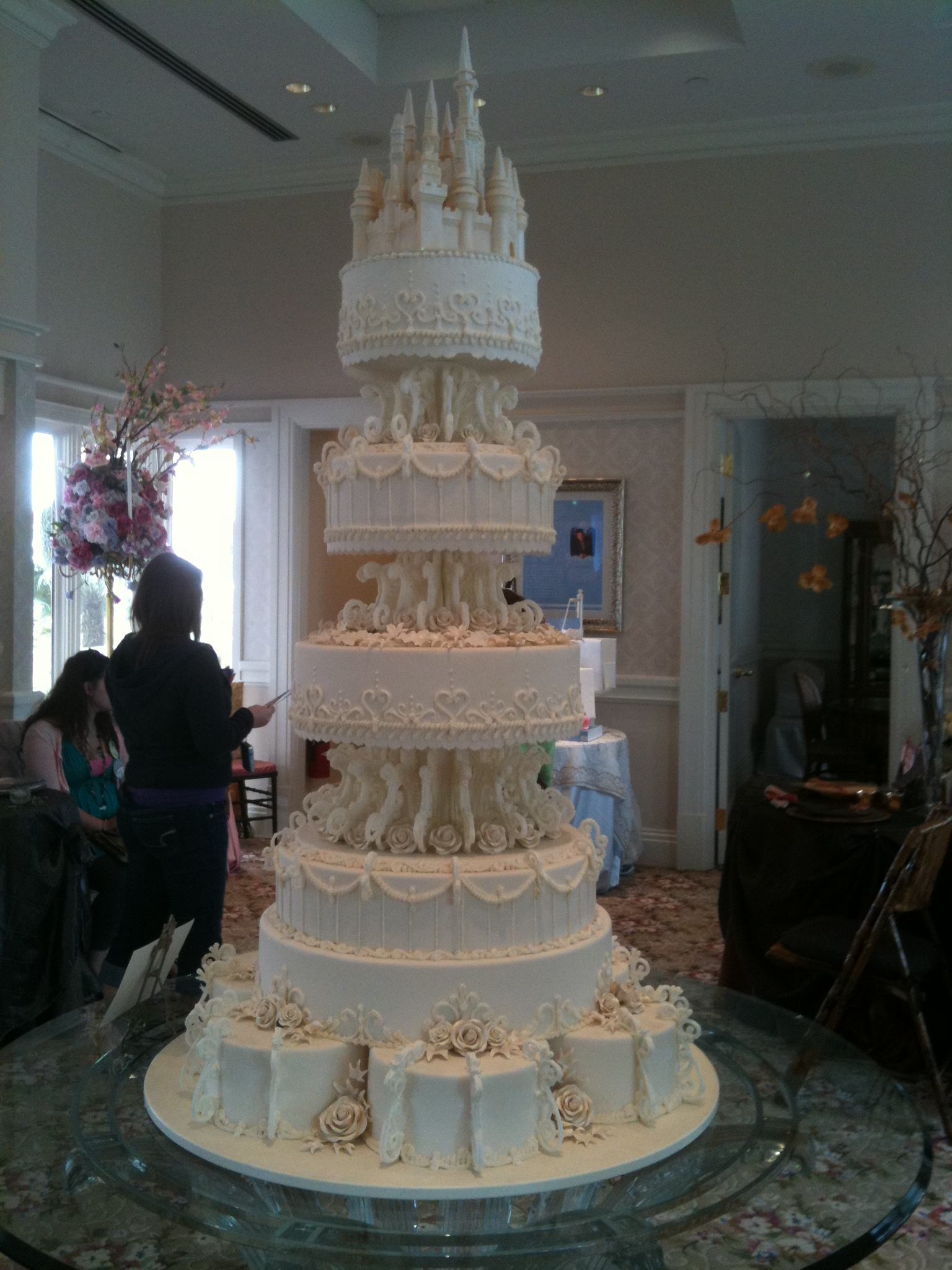fairytale castle wedding cake wordless wednesday disney tale castle wedding cake 14096