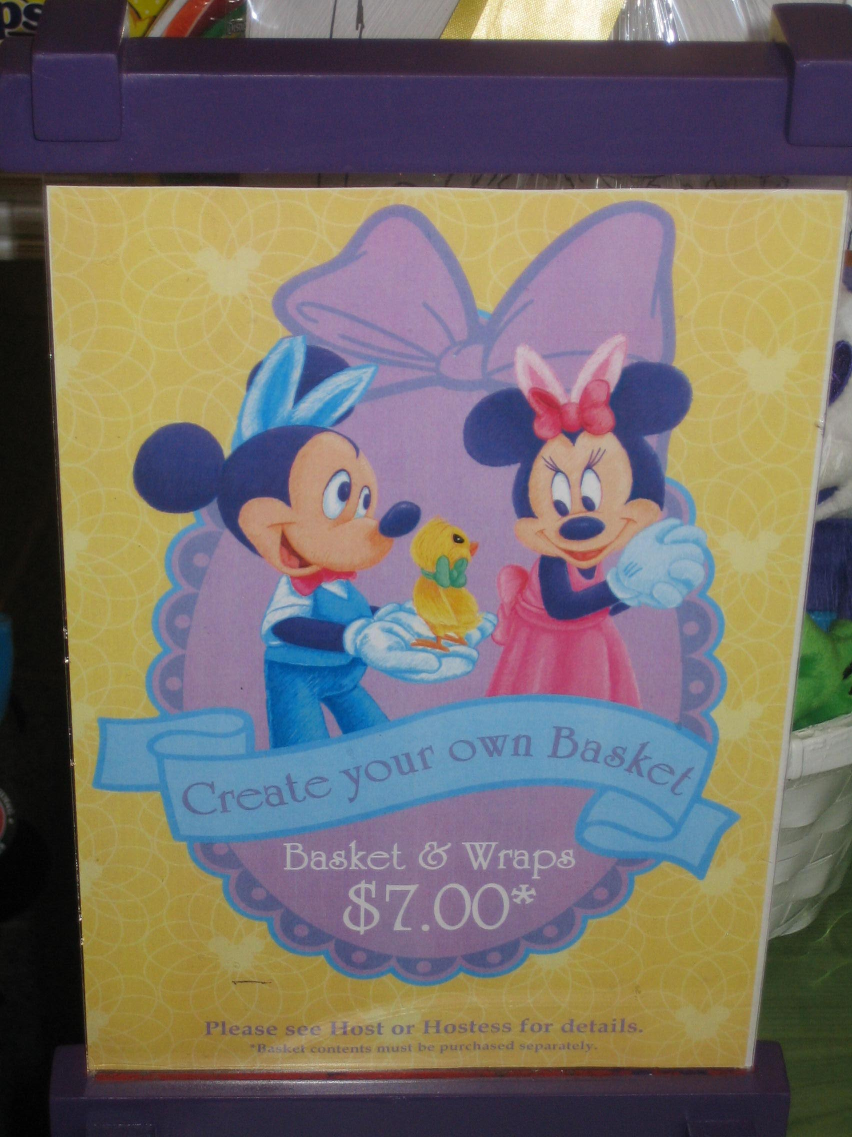 Create Your Own Gift Tags Cards And More Using Avery: Create Your Own Easter Basket At The Walt Disney World