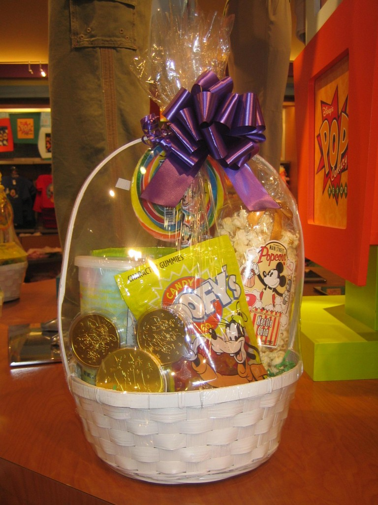 Create your own easter basket at the walt disney world resort goofy easter basket negle Choice Image