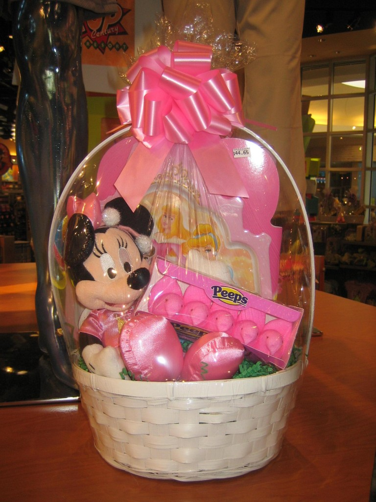 Create your own easter basket at the walt disney world resort minnie mouse disney easter basket negle Choice Image