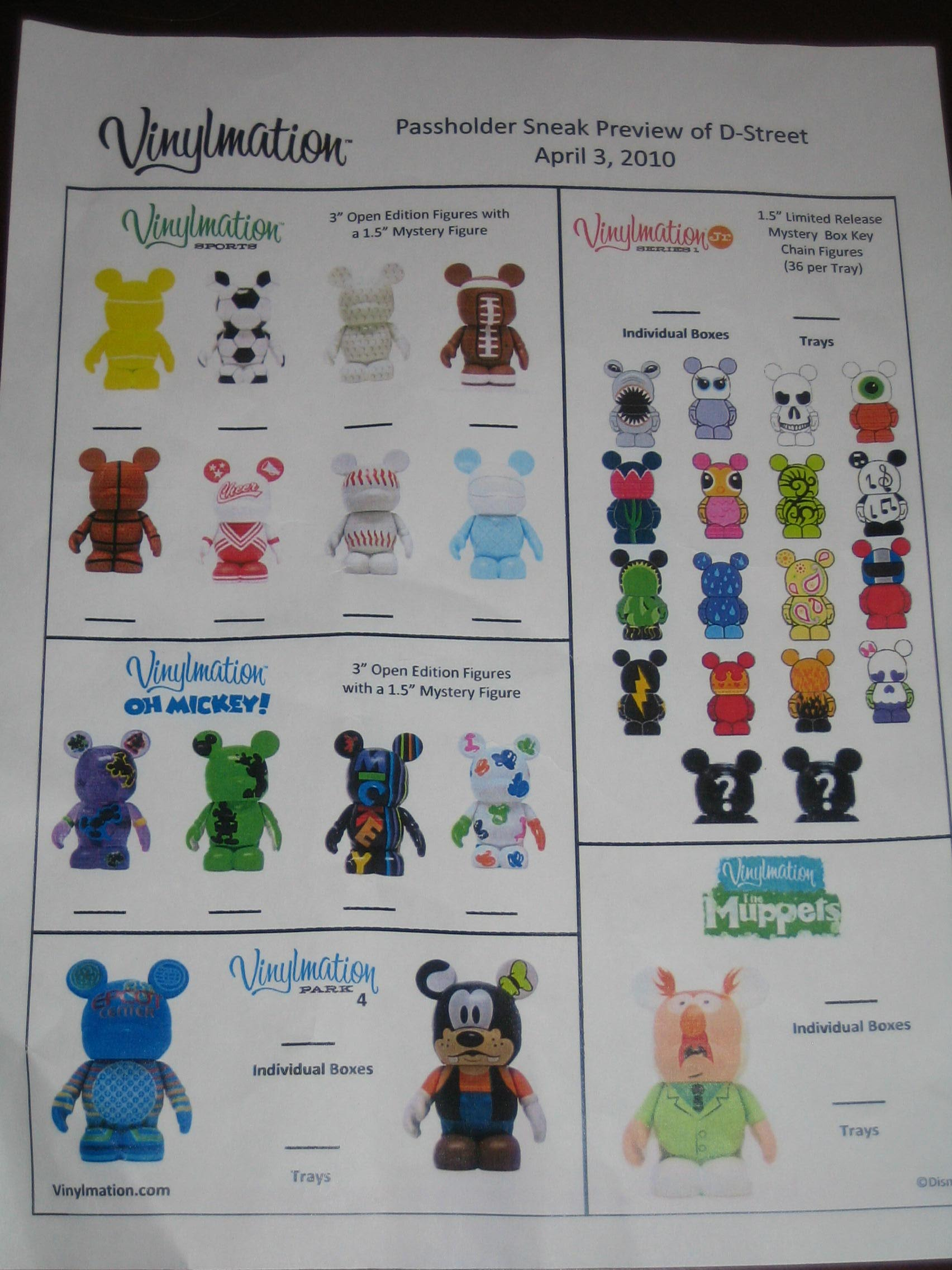 Vinylmation Passholder Preview