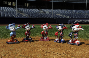 Disney Partners with Major League Baseball to Create 36 Mickey Statues
