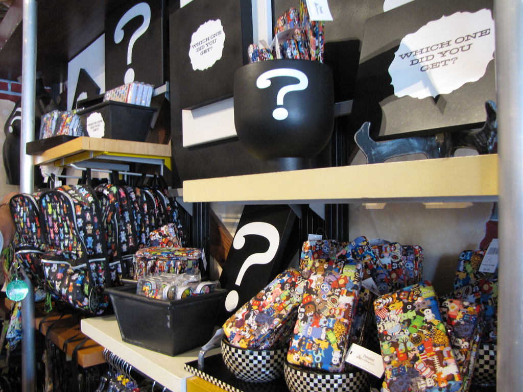 Vinylmation wallets, backpacks and more