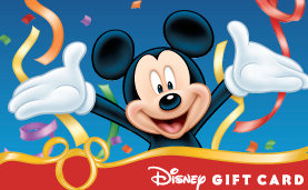Disney Mickey Gift Card