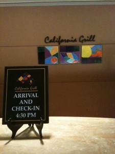 California Grill Check In