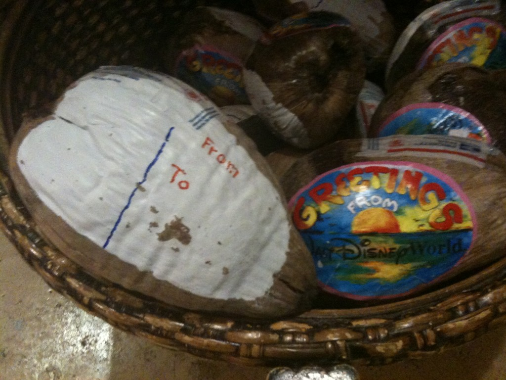 Be Sure to Mail Your Coconut the Next Time You Visit Walt Disney World