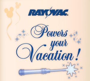 Will You Win the Rayovac Powers Your Vacation Magic Wand Sweepstakes?