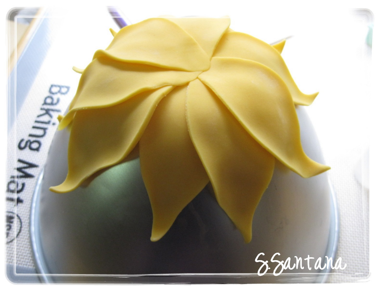 Fondant Sunflower