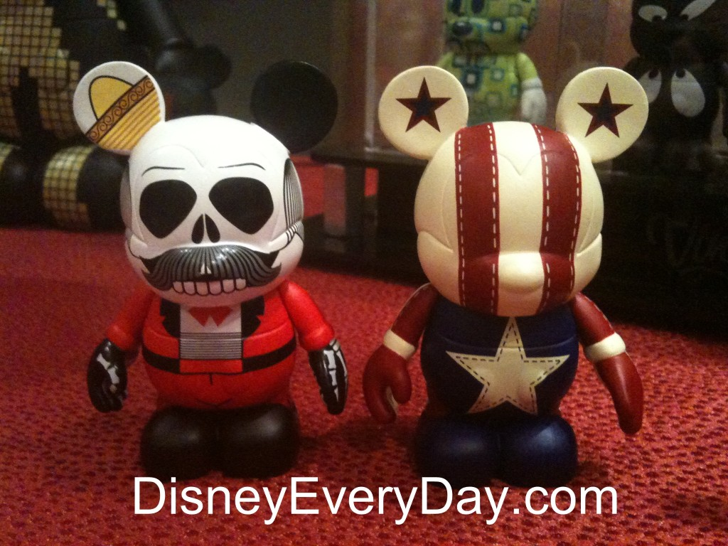 Pre Production First Look at Disney's Trade City USA Vinylmation