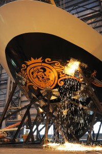 Have You Ever Seen a Disney Cruise Ship Being Assembled?
