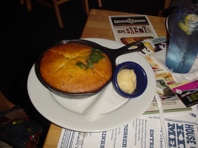 House of Blues Famous Rosemary Cornbread Skillet