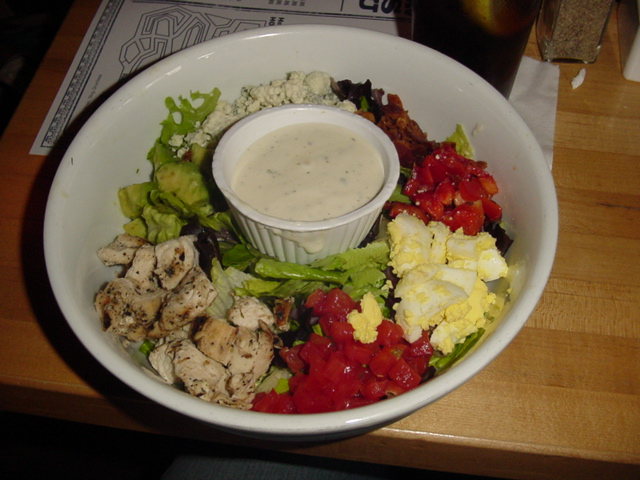 House of Blues Tossed Cobb Salad with Grilled Chicken