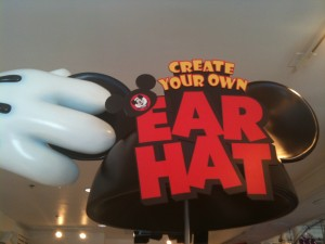 Create Your Own Ear hat Disney