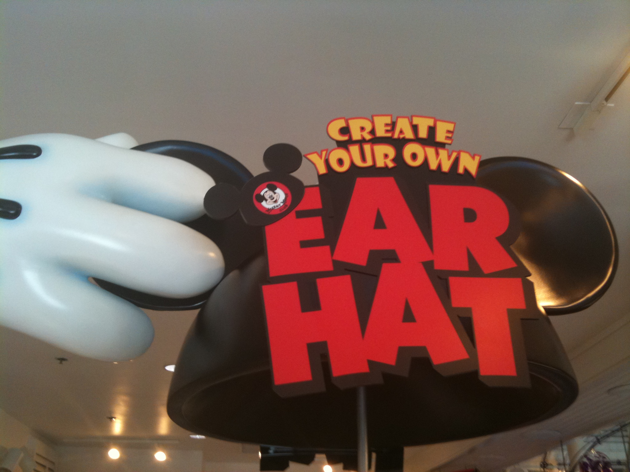 Create Your Own Mickey Mouse Ear Hat at Downtown Disney