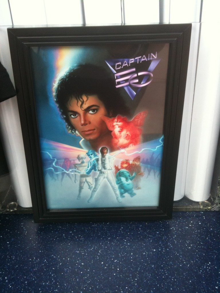 Michael Jackson and Cast Captain EO Poster