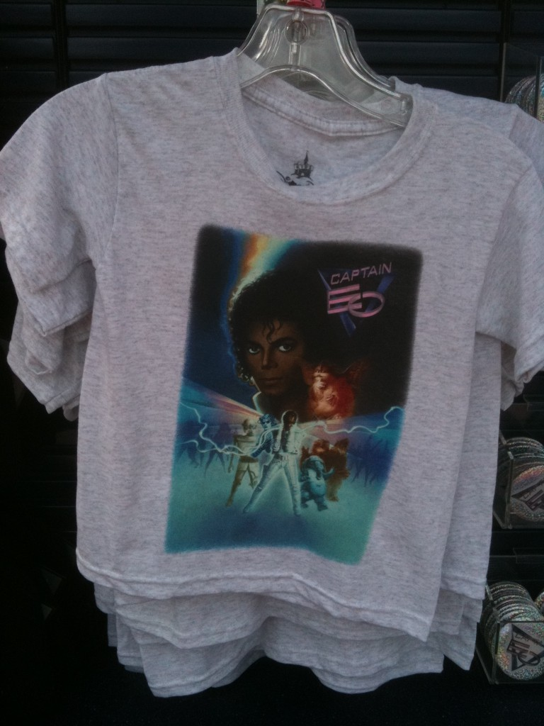 Child Heather Gray Captain EO Poster T-Shirt