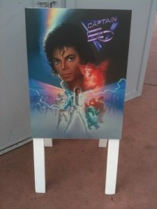 Captain EO Sign WDW