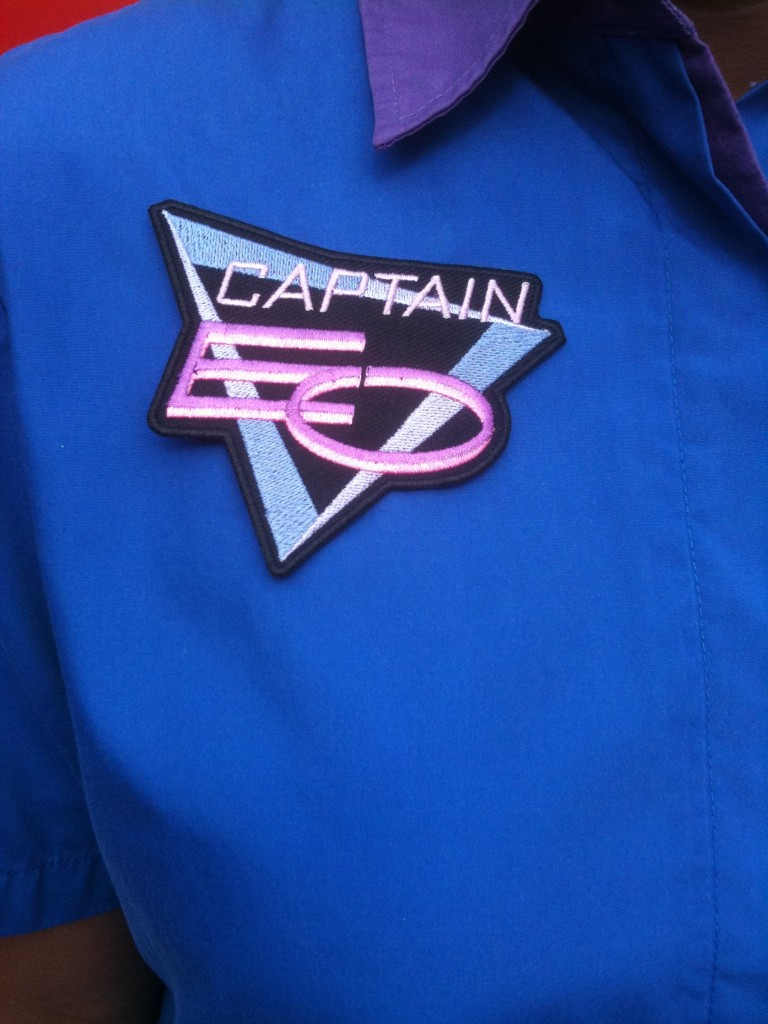 Captain EO Cast Member Costume Patch
