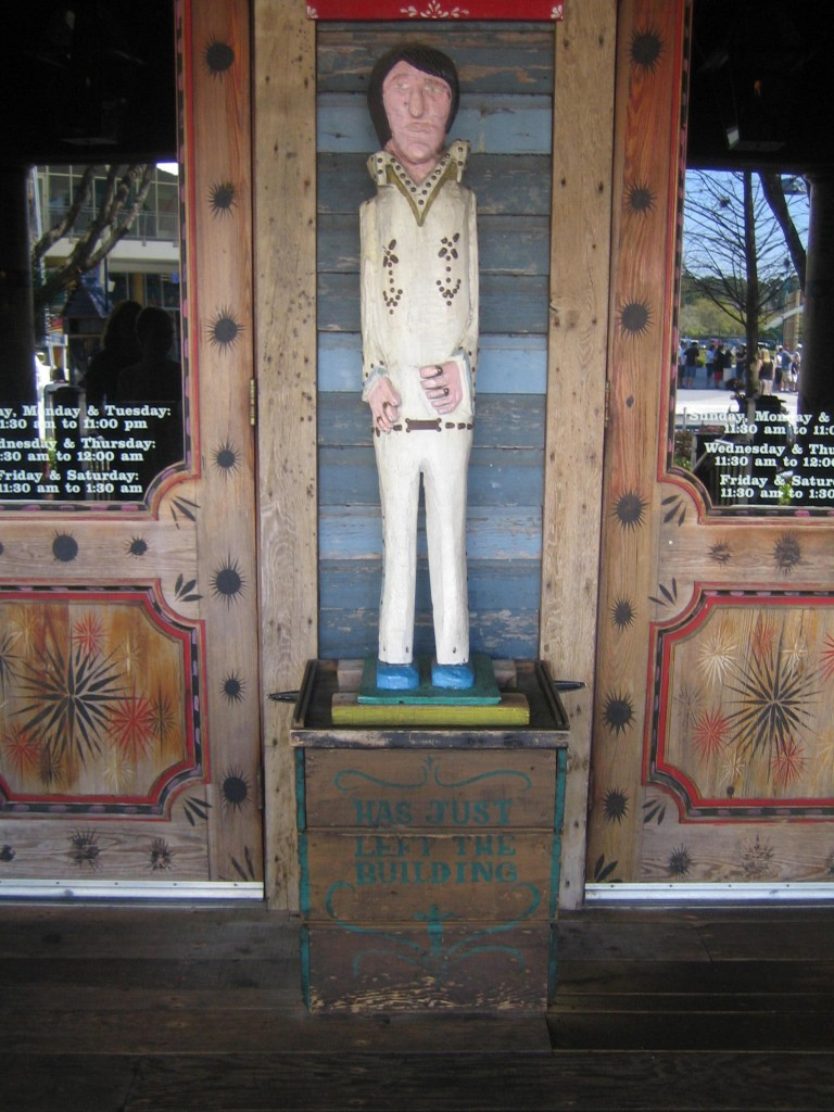 Elvis Sculpture at The House of Blues