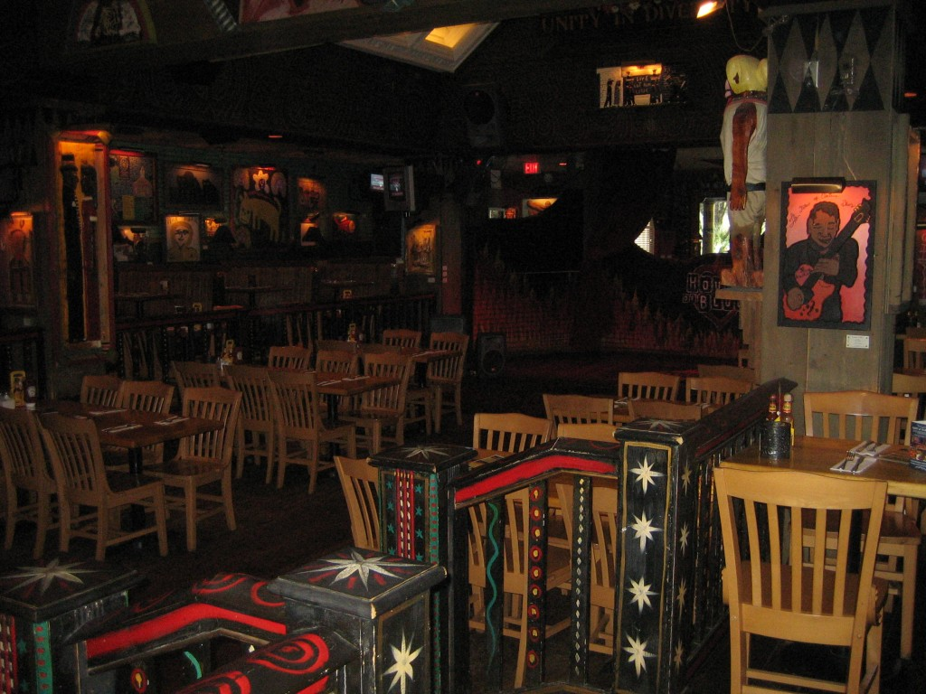 House of Blues Seating