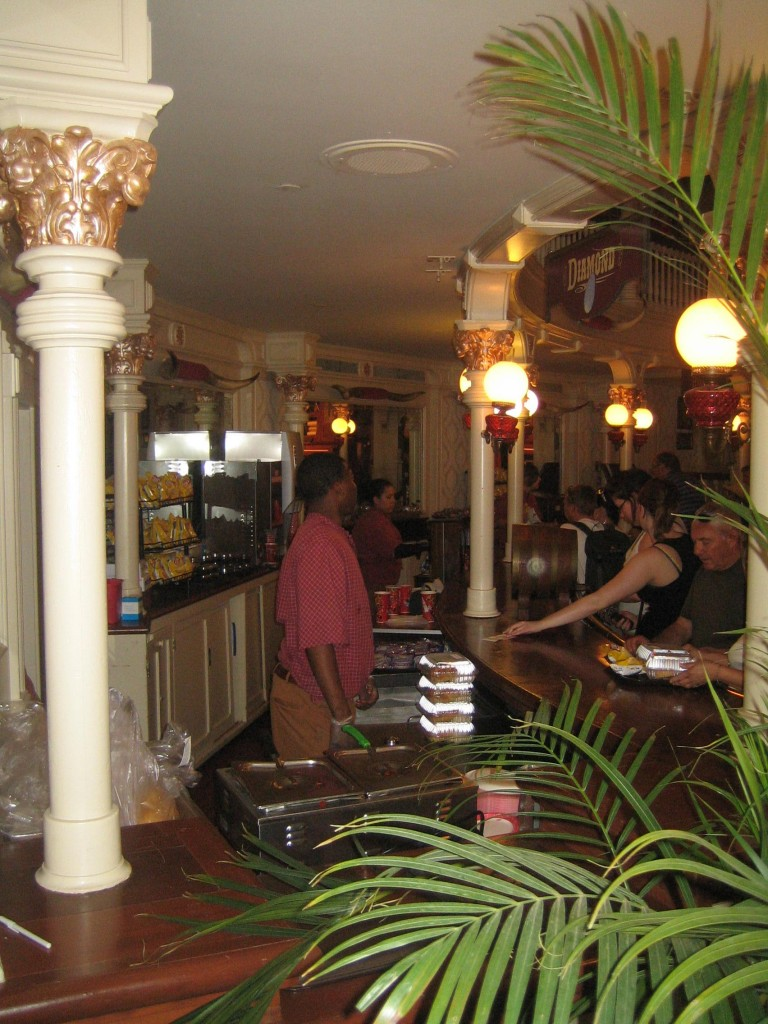 The Diamond Horseshoe Restaurant Counter Service Area
