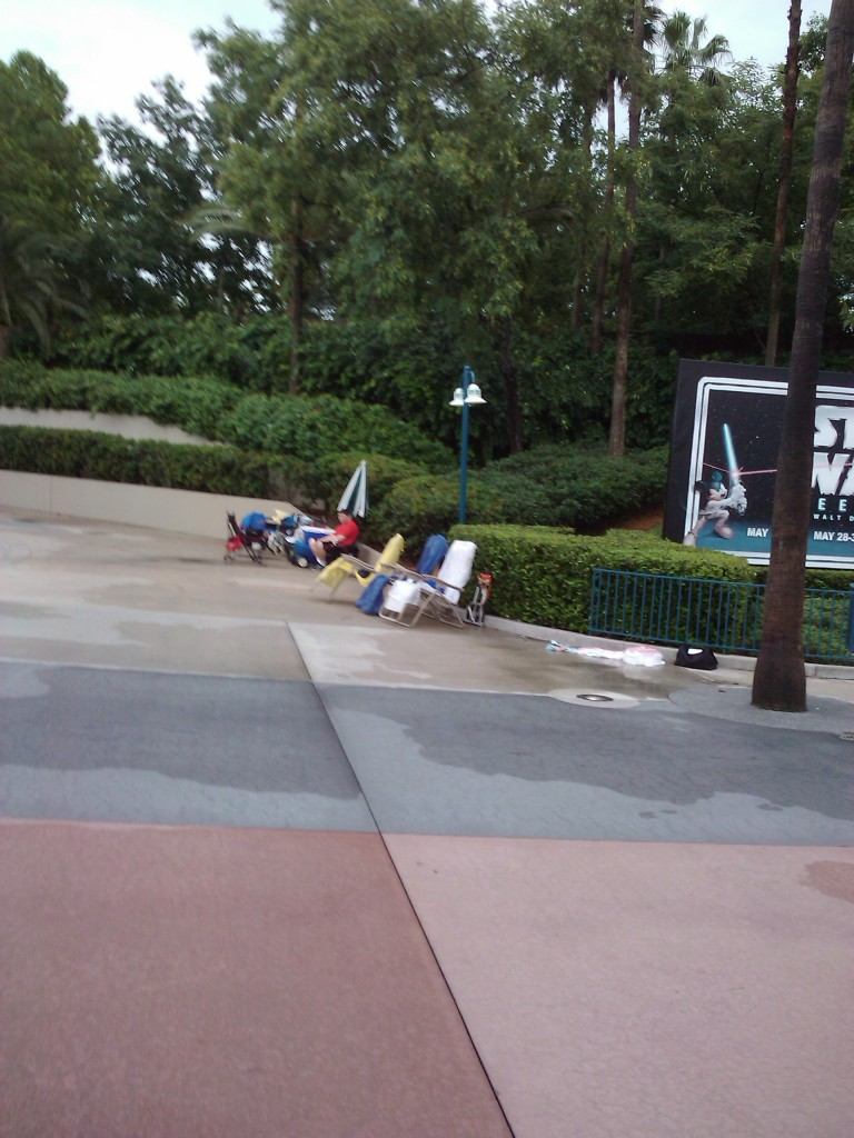 Guests Camped Out at Disney's Hollywood Studios for Star Wars Weekend