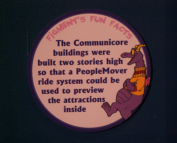 From the EPCOT Center 25th Anniversary Exhibit of 2007. Photo property of Brian Martsolf on flickr